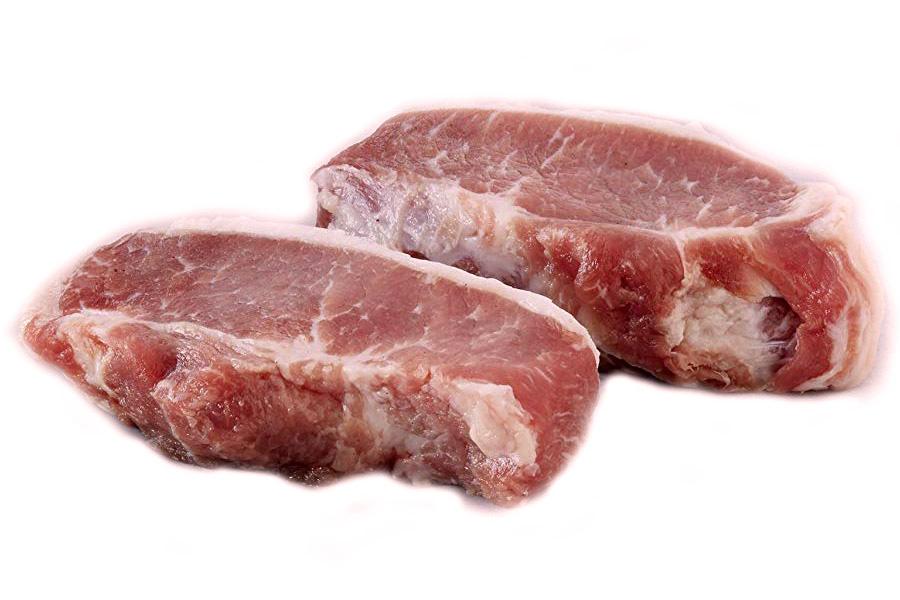 Thịt lưng trước heo Iberico - Sirlion [Khay]