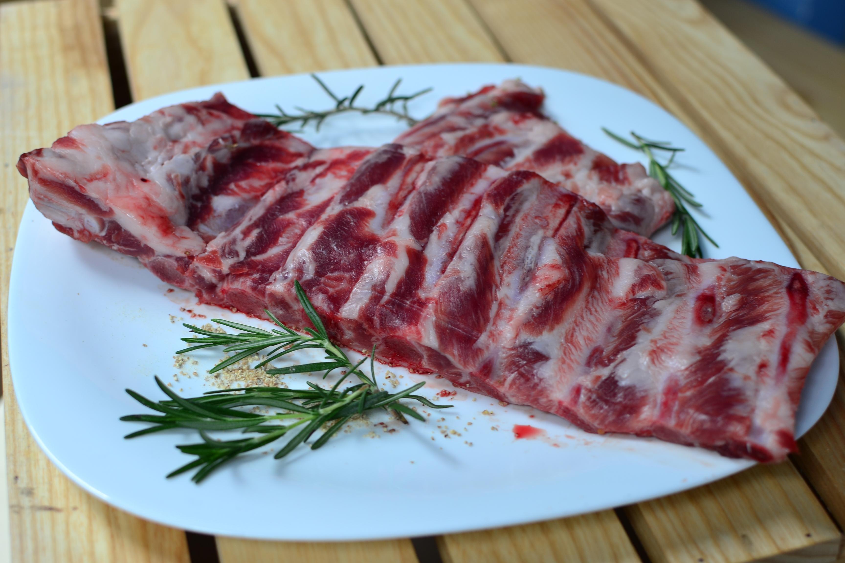 [Gói] Strip Ribs - Thịt xương sườn heo Iberico