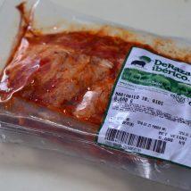 Thịt sườn ướp sẵn heo Iberico